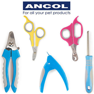 Ancol Nail Clippers Small Animal Cat Dog Grooming Claw Trim Scissors Nail File • 8.99£
