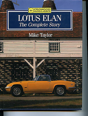 $ CDN123.90 • Buy Lotus Elan The Complete Story, Taylor, New Crowood 1990 Hardcover Book Free Ship