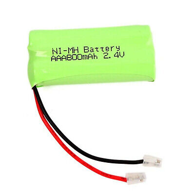 CORDLESS PHONE BATTERY IDect V2i 2.4V 550mAh Rechargeable Universal Connectors • 5.90£