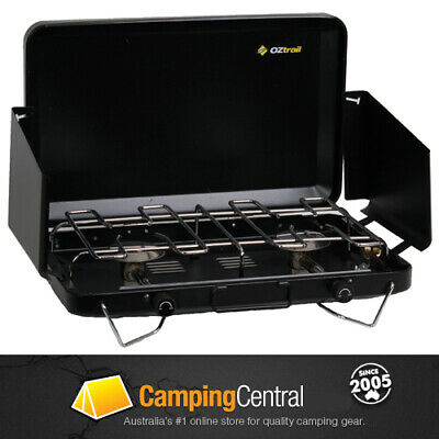 AU69.99 • Buy OZtrail 2 Burner Gas Camping Camp Portable Stove Cooker