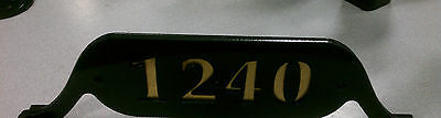 $99.99 • Buy House Number Mailbox Topper - Metal - Customizable - Color Options - Address