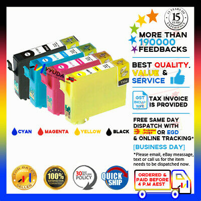 AU21.45 • Buy 20x Non-OEM INK T138 T1381-4 For EPSON WorkForce 60 435 445 545 845 633 NX230