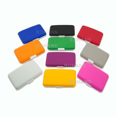 Silicone Credit Card Holder Wallet Purse Case Business Card Protect Rubber YK201 • 1.99£