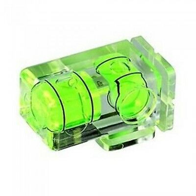 £4.99 • Buy Camera Flash Hot Shoe Spirit Level Double 2 Axis Bubble UK Seller