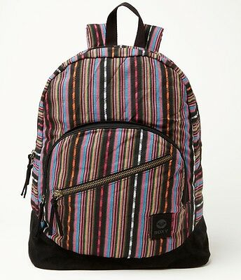 $29.99 • Buy Roxy Long Time Backpack School Book Bag Girls NEW NWT