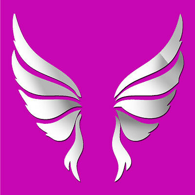£12.99 • Buy Angel Wings Acrylic Wall Stickers / Wall Decors / Wall Art / Decorations