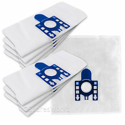 £9.95 • Buy 10 Pack MIELE Compatible GN S8340 ECO-LINE SOLUTION Vacuum Cleaner DUST BAGS