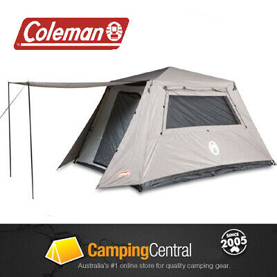 AU299.95 • Buy Coleman Instant Up Tent 6p 6 Man Person Tents (full Fly) Pop Up Turbo Tent