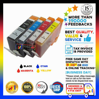AU20 • Buy 10x Yyuda NON-OEM 564XL Ink For HP Photosmart 5510/5520/6510/6520/7510/7520