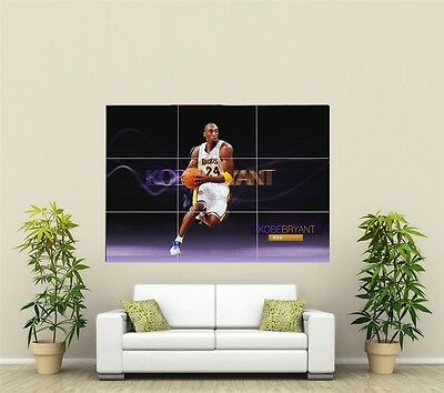 £14.94 • Buy Kobe Bryant Giant XL Section Wall Art Poster SP121