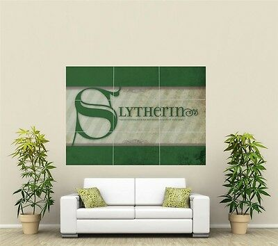 Harry Potter Slytherin Giant XL Section Wall Art Poster TVF143 • 10.34£