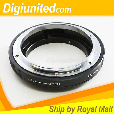 Macro Canon FD Lens To Olympus Four Thirds 4/3 Mount Adapter E-3 E-510 E-620 E-5 • 17.77£