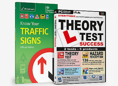 £9 • Buy Know Your Traffic Signs & Driving Theory Test Success Dvd Rom 2021 Bnib