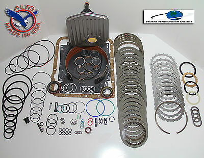 AU190.01 • Buy TH700R4 Rebuild Kit Heavy Duty HEG LS Kit Stage 4 W/3-4 Power Pack 1987-1993
