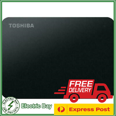 AU109 • Buy 2TB Toshiba Canvio USB External HDD Portable Hard Disk Drive 2.5  Laptop PC MAC