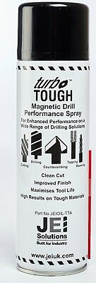 £17.75 • Buy Turbo-tough Magnetic Drill Rotabroach Style Cutting Lubricant 500ml Spray Can