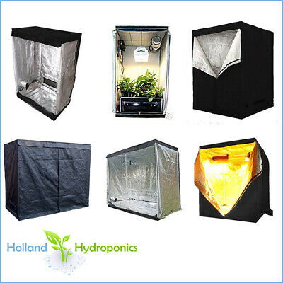AU99.95 • Buy GROW ROOM TENT Hydroponics Aluminium Silver Mylar Dark Green House Indoor Set Up