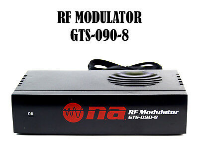 £14.51 • Buy RF Modulator Universal Audio Video RCA Output To F Type Coaxial Signal Converter