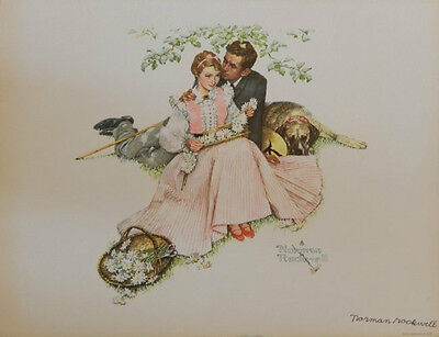 $ CDN1148.31 • Buy Hand Signed Norman Rockwell Lithograph