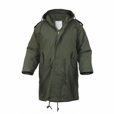 $94.99 • Buy M-51 Fishtail Parka Jacket With Liner Olive Drab Military Style  Rothco 9462
