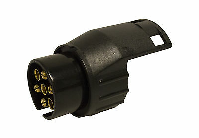 7 To 13 Pin Adaptor  7 Pin On Car To 13 Pin On The Trailer For Towing Electrics • 5.89£