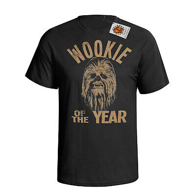 Wookie Of The Year Chewbacca Mens T-shirt Star Wars Inspired Film New 57 • 9.34£