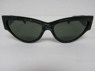 $249.99 • Buy Vintage B&L Ray Ban Onyx Style 3 Ebony Black Strata W0798 Cat Eye Sunglasses