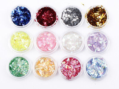 Chunky Hexagon Mylar Ice Flakes Nail Art Glitter Festival Dance Party • 1.49£