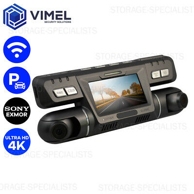 AU179 • Buy Dual Dash Camera 4K WIFI Wireless Car Taxi Security Cam 2160P Truck Backup Uber