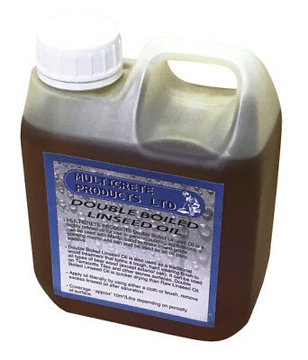 Double Boiled Linseed Oil - 1 Litre • 12.99£