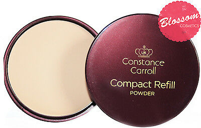CCUK Constance Carroll Compact Face Pressed Powder Refills Light/Medium/Dark • 2.99£