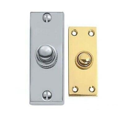 £13.99 • Buy Oblong Bell Push 75 X 25 Mm Available In Various Finishes