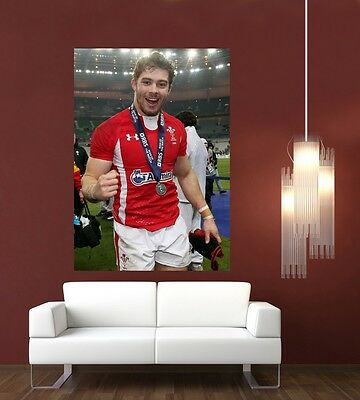 £9.76 • Buy Leigh Halfpenny Wales & Lions Rugby Giant 1 Piece  Wall Art Poster SP232