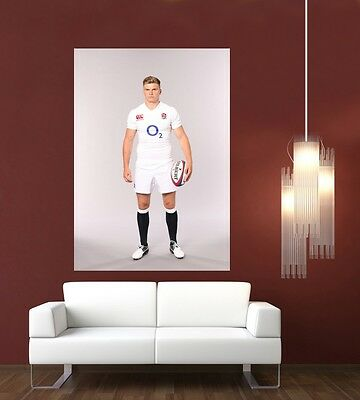 £8.90 • Buy Owen Farrell England & Lions Rugby Giant 1 Piece  Wall Art Poster SP236