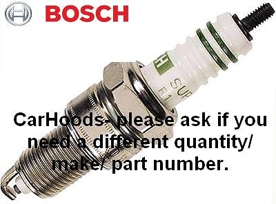 Bosch WR6DCX Spark Plug - NEW More Available Better Than NGK BPR6ES-11 • 2.50£