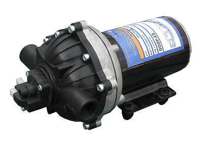 EVERFLO 12 Volt 4.0 GPM Diaphragm Water Transfer Pump For Motorhomes / Trailers • 76.36£
