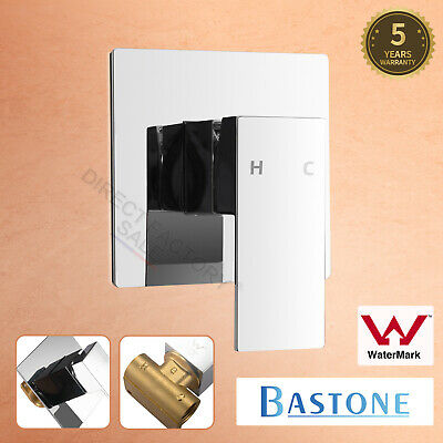 AU49.90 • Buy Bathroom Wall Flick Shower Mixer Tap Square Brass Bath Basin Vanity Spa Spout