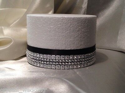 Diamante Crystal Effect Ribbon Premium Wedding Cake Trim-  • 6.38£