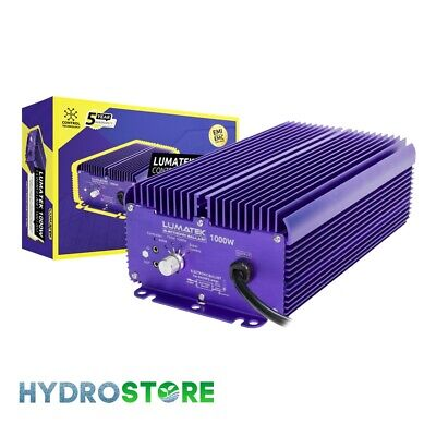 Lumatek Dimmable Digital Ballast - 1000w. Lighting Control. Hydroponics. • 189.95£