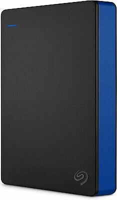 AU169 • Buy Seagate 4TB Game Drive External Drive For PS4 Portable HDD Hard Drive Blue NEW