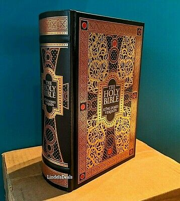 £28.03 • Buy The Holy Bible King James Version Gustave Dore Illustrated Leather Bound NEW