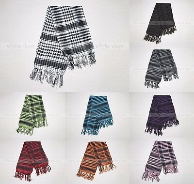 $6.95 • Buy Light Weight Shemagh Military Tactical Desert Keffiyeh Pattern Square Scarf