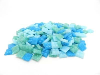 £14.10 • Buy 1600 Vitreous Glass Mosaic Tiles Turquoise Mix Arts Crafts