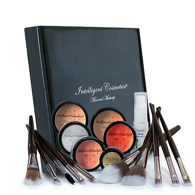 £7 • Buy Mineral Foundation Make Up Bare Natural Magic Cover Mineral 17 Pce COMPLETE SET