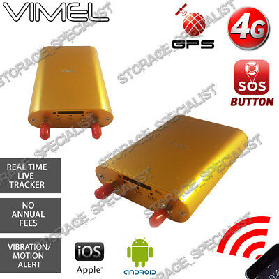 AU169.95 • Buy Vimel 4G GPS Tracker 3G Hardwired Power Real Live Tracking Device Anti Theft Car