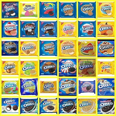 NABISCO OREO Creme Filled Golden Chocolate Sandwich Cookies LIMITED EDITION • 5.97£