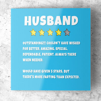 Funny Birthday Anniversary Card For HUSBAND Rude Humour Joke  • 2.85£
