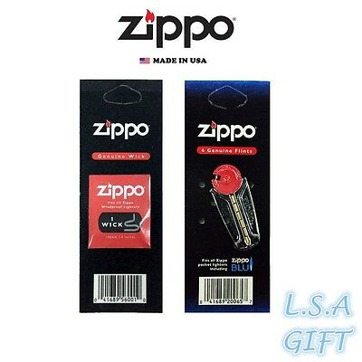 $3.95 • Buy Zippo 1 Flint And 1 Wick Value Pack (6 Flints & 1 Wick)