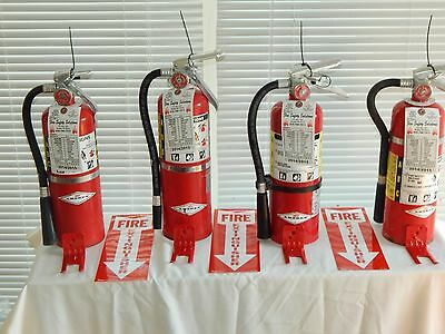 $129 • Buy Fire Extinguisher 5Lb ABC Dry Chemical  - Lot Of 4 [NICE]