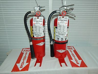 $68 • Buy Fire Extinguisher - 5Lb ABC Dry Chemical  - Lot Of 2 [NICE]
